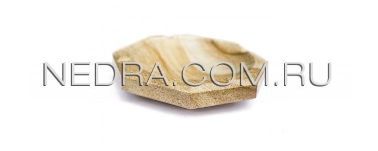 Пепельница из природного камня восьмиугольная