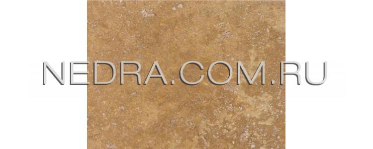 Травертин античный бежевый залеченный цементом Cross Cut