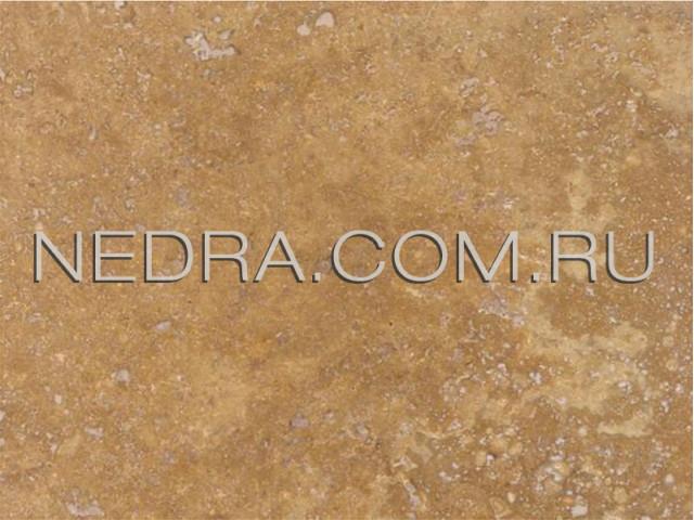 Травертин античный бежевый залеченный цементом CC