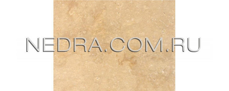 Травертин античный светло-бежевый залеченный цементом Cross Cut