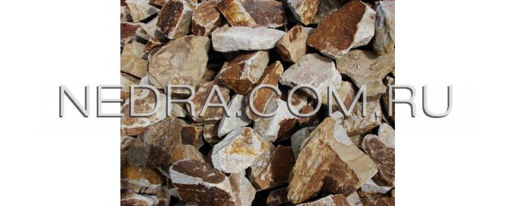 Камень бутовый для ландшафтного дизайна от производителя